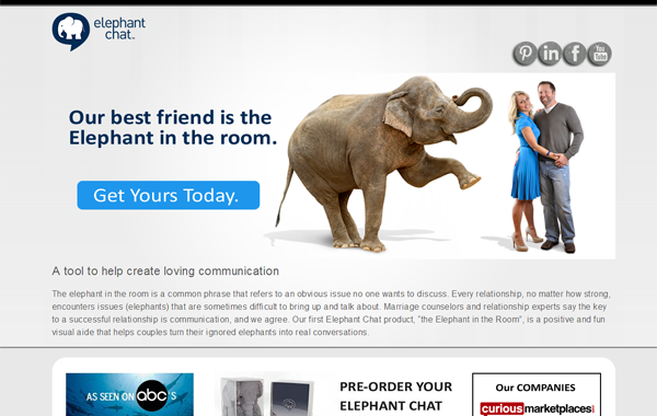 Elephant Chat on Shark Tank