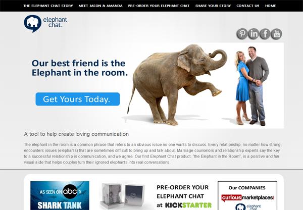 Elephant Chat on Shark Tank