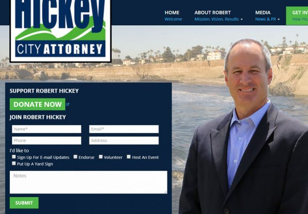 Robert Hickey for City Attorney