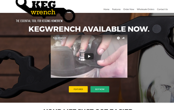 Keg Wrench